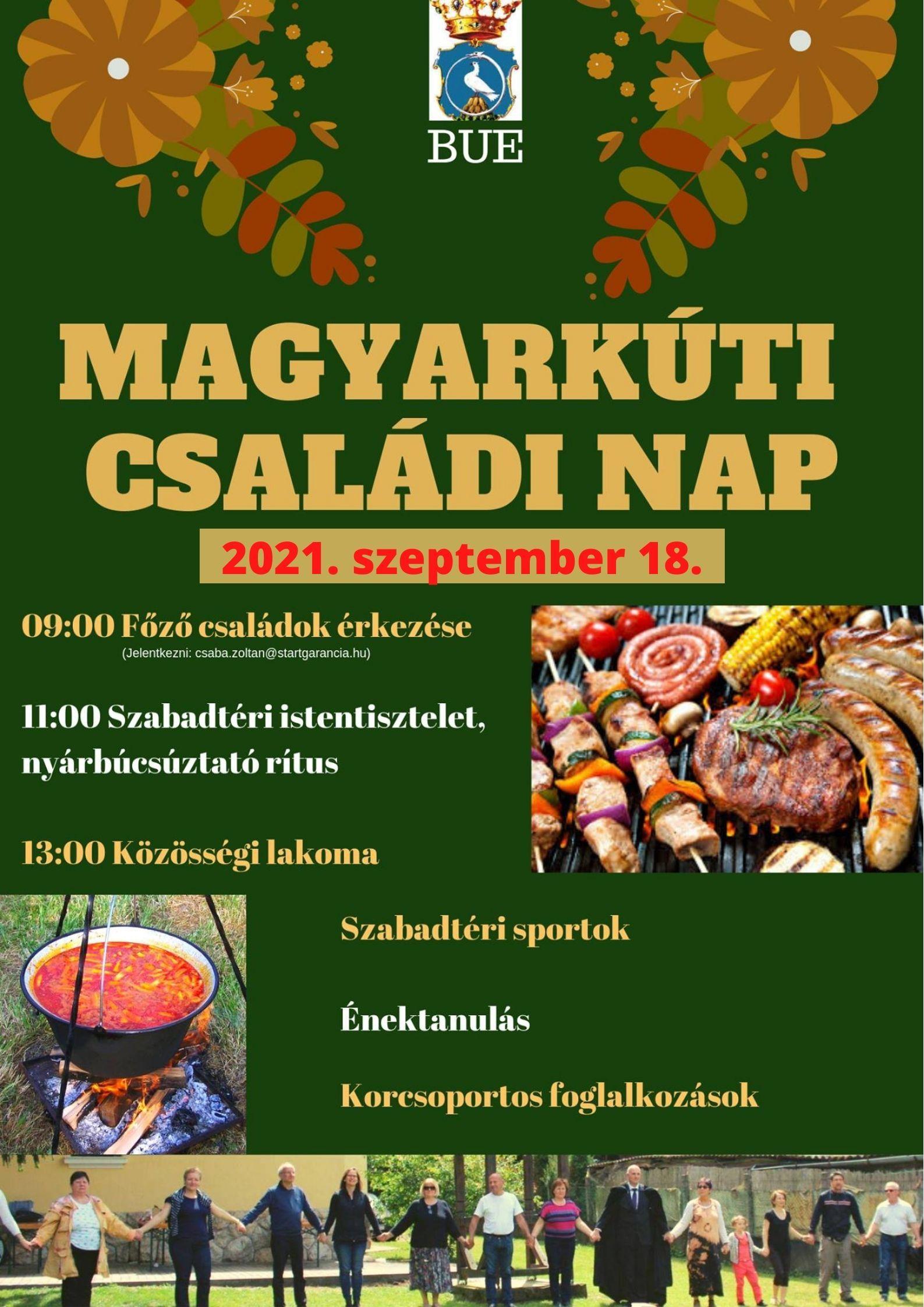 Magyarkúti őszi gyülekezeti nap